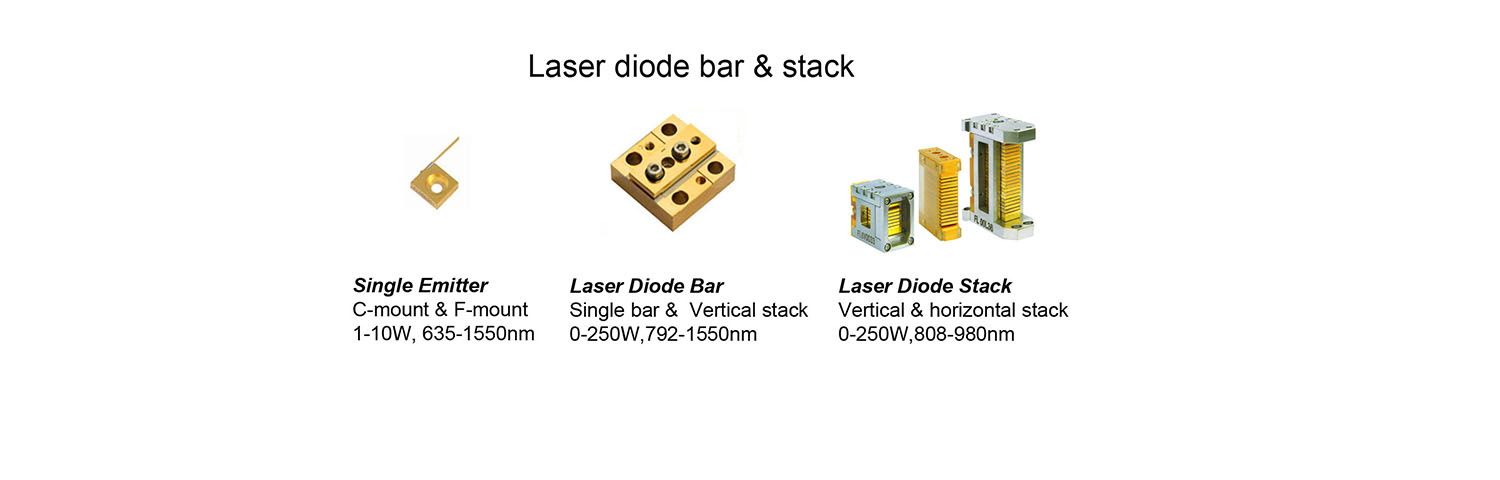 laser diode bar and stack